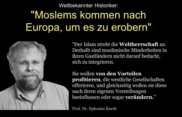 Moslems wollen Europa erobern